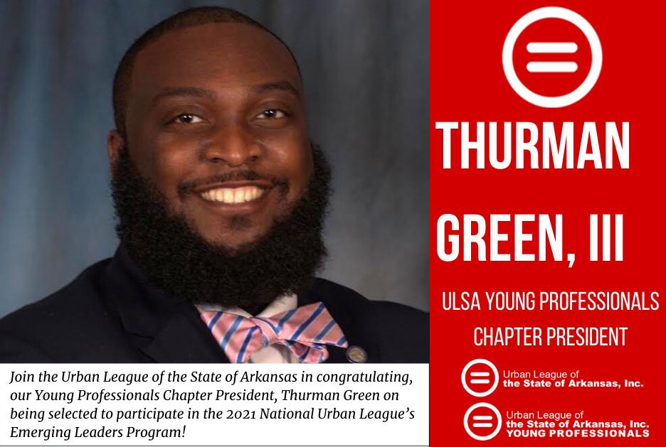 Arkansas YP President selected for – National Urban League Emerging Leaders Program!
